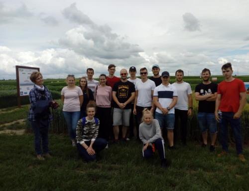 Zwiedzanie KDP przez studentów III roku rolnictwa Uniwersytetu Technologiczno-Przyrodniczego w Bydgoszczy