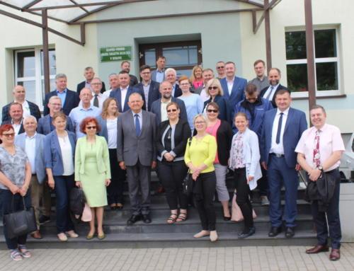 Wizyta Dyrektorów Ośrodków Doradztwa Rolniczego na Krajowych Dniach Pola w Minikowie 2020
