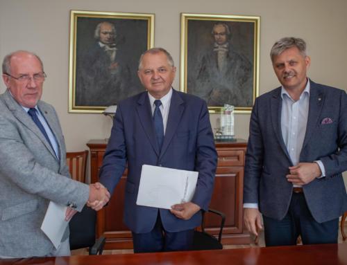 Krajowe Dni Pola 2021 – podpisanie umowy przez współorganizatorów.