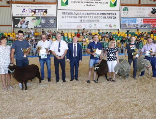 XXI Regionalna kujawsko-pomorska wystawa zwierząt hodowlanych w Minikowie