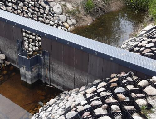 Wybrane innowacyjne urządzenie wspomagające gospodarowanie wodą na obiekcie melioracyjnym