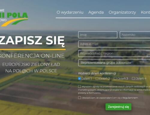 """Konferencje online """"EUROPEJSKI ZIELONY ŁAD NA POL@CH W POLSCE"""" 14-17.06.2021 r. REJESTRACJA"""